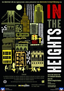 In the Heights Plakat